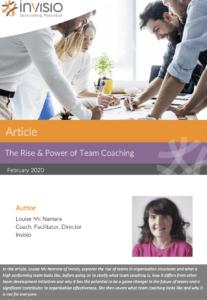 Article Team Coaching Louise McNamara