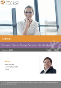 Customer Service Betty Nerney Article Cover